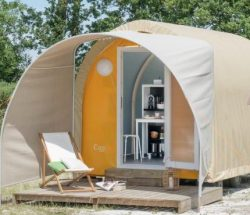 Le Rochelongue Campsite: Cocosweet 1br