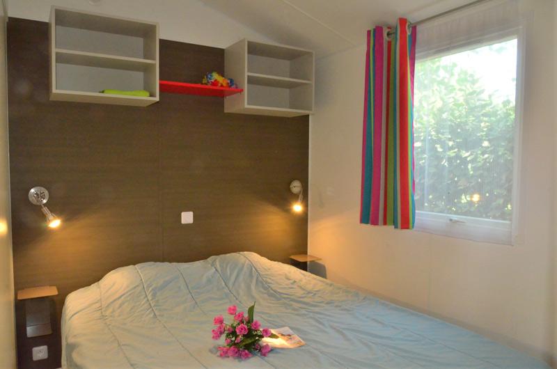 Camping Le Rochelongue : Chambre Mh Confort