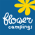 Camping Le Rochelongue : Logo Flower Camping50x50