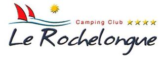 Camping Le Rochelongue : Logo Rochelongue 334x120px
