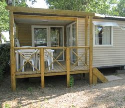Camping Le Rochelongue : Mh Confort 2ch