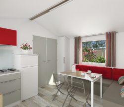 Plan mobil-home intérieur