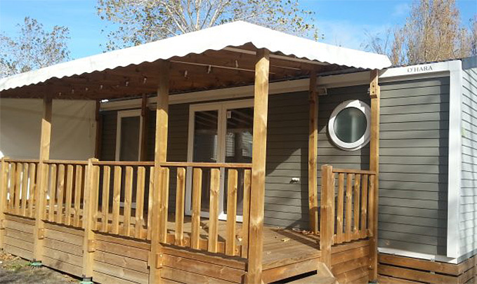 Camping Le Rochelongue : Mh Premium 4pers