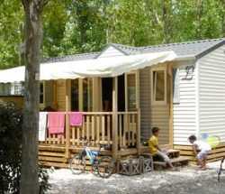Le Rochelongue Campsite: Family Mobile Home Comfort+ 6people