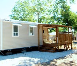 Camping Le Rochelongue: Mobilehome Confort 2hab