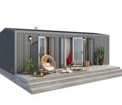 Camping Le Rochelongue : Premium+ 2 Sdb
