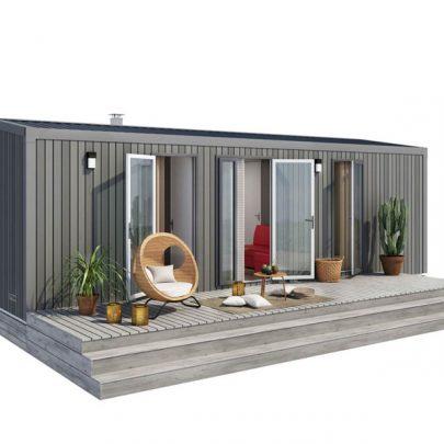 Camping Le Rochelongue : Premium+ 2 badk