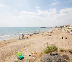 Le Rochelongue Campsite: Rochelongue beach