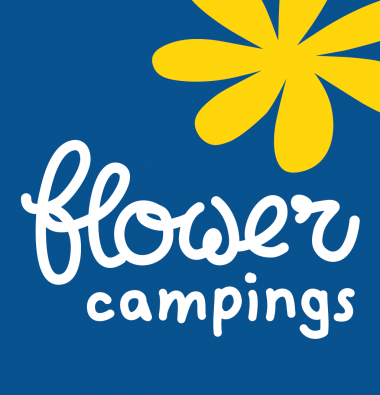 Camping Le Rochelongue : Logo Flower